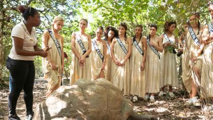 Les Miss, actuellement à l île Maurice, ont passé leur test de culture 487983379a5
