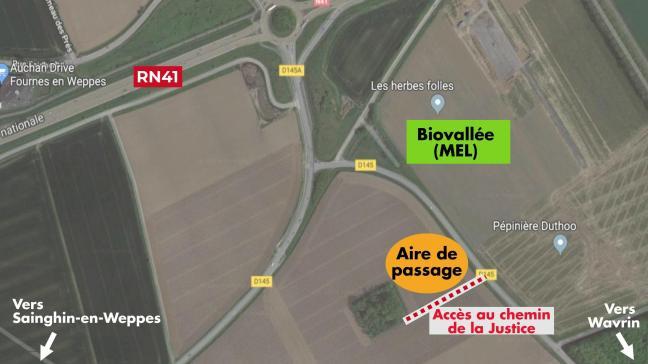 L aire de passage permettra à Wavrin (7600 habitants) de se mettre en 112fe582a3fb